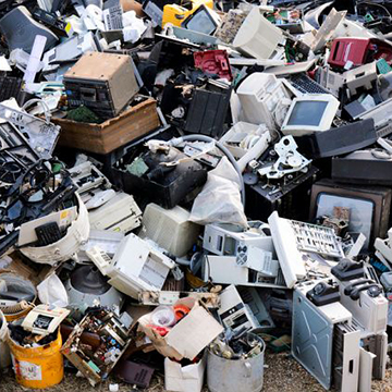 Re-thinking the electronic waste problem