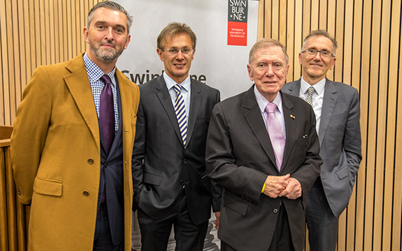 Michael Kirby at law school group shot