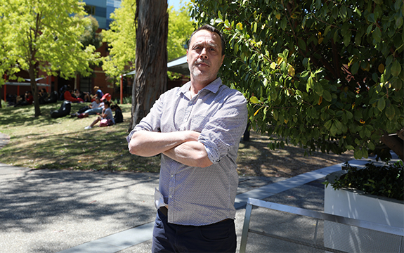 Gundtijmara man and Indigenous education teacher, Mat Jakobi, has been appointed as Swinburne's inaugural lecturer in Indigenous Cultural Capabilities