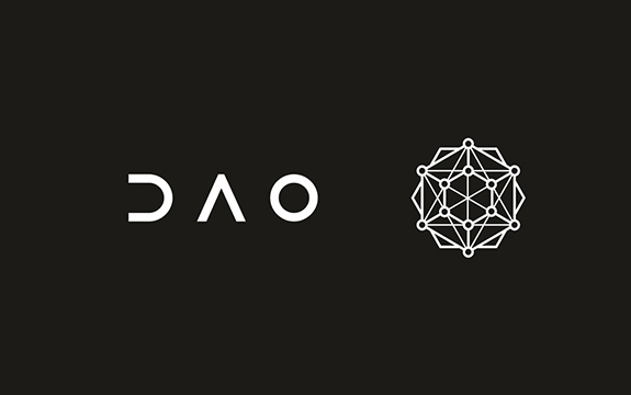 The black and white dao logo is shown