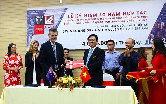 Swinburne and University of Architecture HCMC staff