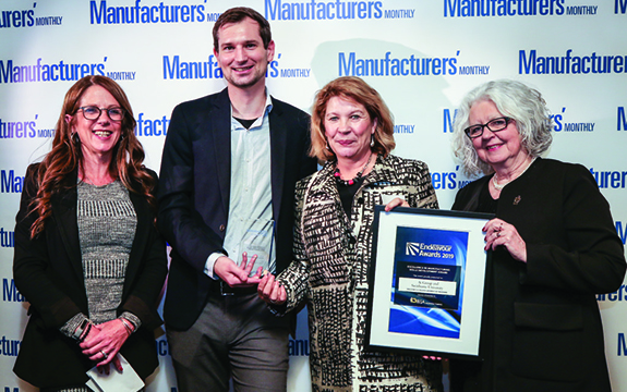 Recipients of Excellence in Manufacturing Skills Development award