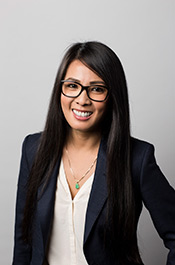 Kerry Nyguyen in a professional suit
