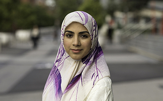 Javeria Jalal, a PhD student at Swinburne.