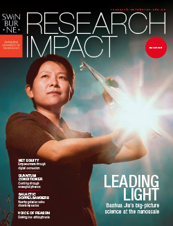 Research impact magazine 2017 cover.