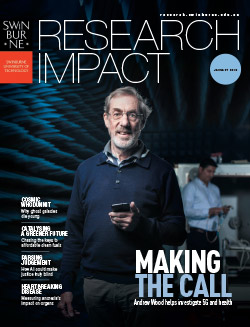 Research impact magazine 2019 cover.