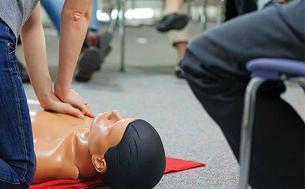 First Aid tile for Short Courses page