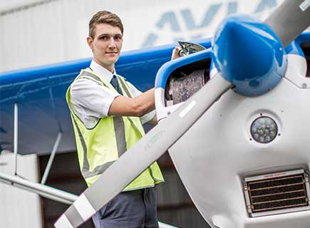 Photograph of Josh, Bachelor of Aviation