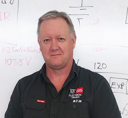 Neil Waixel is a teacher in electrotechnology studies at Swinburne.