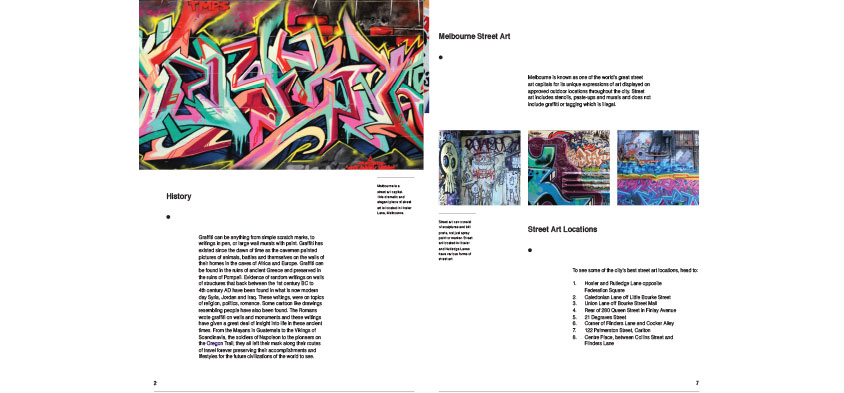 graphic design  - Kirk Cetinic - booklet