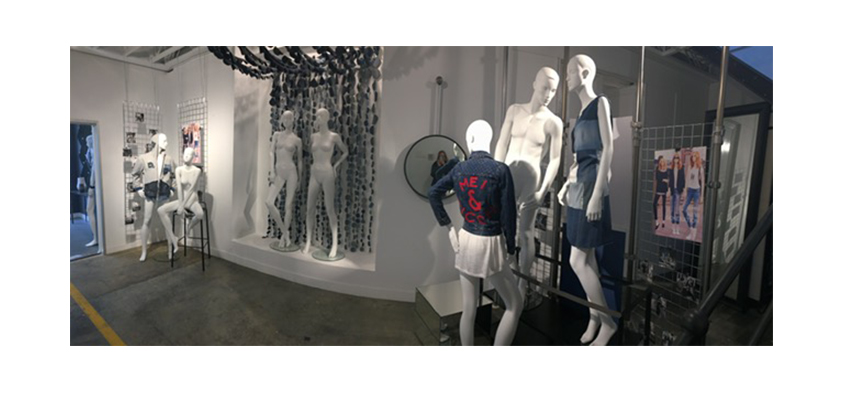 Visual Merchandising student industry project with Mei Picchi
