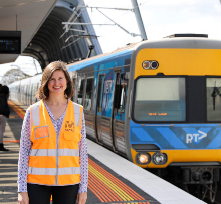 It's Liz Grabham's job to keep every passenger in the loop and ensure they're aware of their transport options and can plan their journey accordingly.