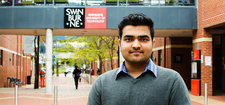 Jainam Sheth, Engineering/Law student at Swinburne University